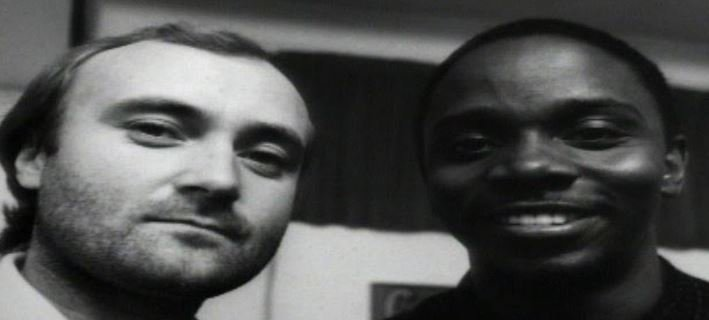 Phil Collins and Philip Bailey.