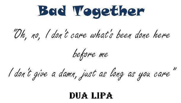 Bad Together lyrics