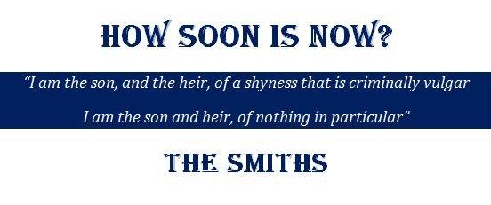 How Soon Is Now Lyrics