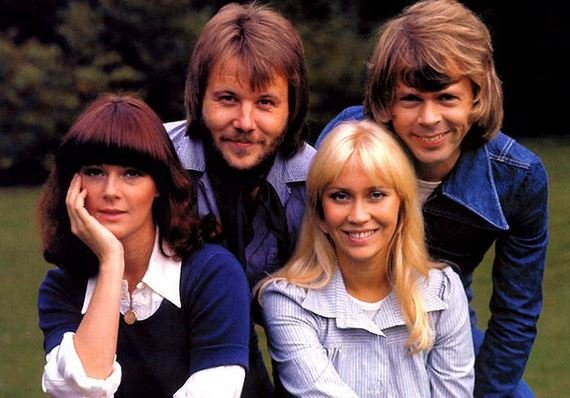 Swedish group ABBA.