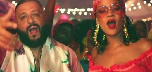 DJ Khaled and Rihanna