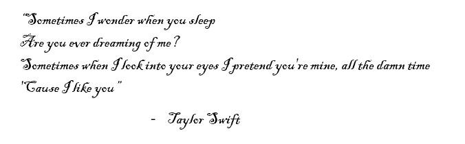 """Lyrics of the song """"Delicate"""" by Taylor Swift"""