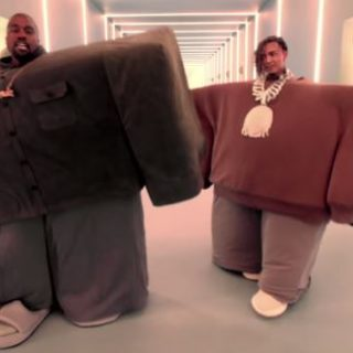 Kanye West and Lil Pump