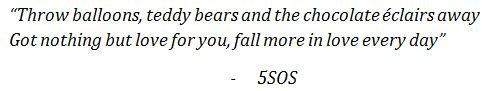 Lyrics of Valentine