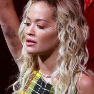 English singer Rita Ora