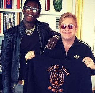 Young Thug and Elton John