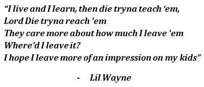 """Lyrics of """"Open Letter"""" by Lil Wayne"""