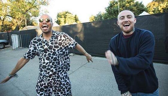 Anderson .Paak and Mac Miller