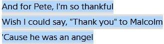 "Lyrics of ""Thank u, next"" by Ariana Grande"