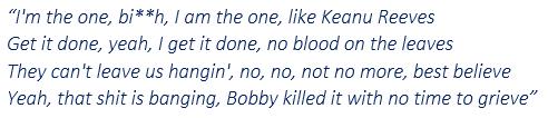 """Lyrics of """"Keanu Reeves"""""""