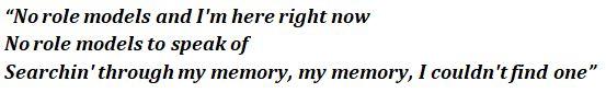 No Role Modelz lyrics