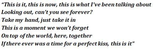 This Is It lyrics