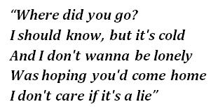 """ilomilo"" lyrics"