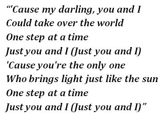 "Lyrics of ""Just You and I"""