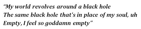 "Lyrics of ""Empty"""