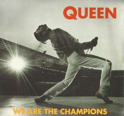 Image result for queen we are the champions images