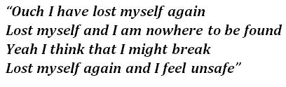 """Lyrics of Sia's """"Breathe Me"""""""