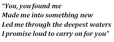 """Lyrics of """"Carry On"""" by Kygo and Rita Ora"""