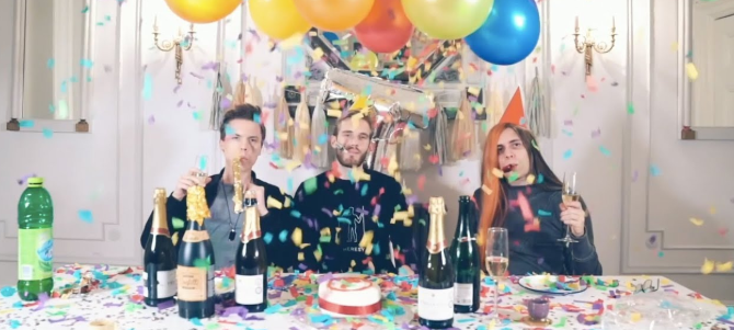 """Congratulations"""" by Roomie, Pewdiepie & Boyinaband - Song"""