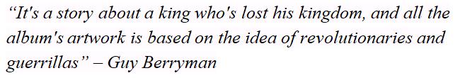 "Guy Berryman explains the meaning of ""Viva La Vida"""