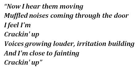 "Lyrics of ""The Visitors"""
