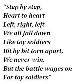 Toy Soldiers lyrics