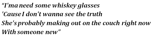 "Morgan Wallen's ""Whiskey Glasses"" Lyrics Meaning - Song"