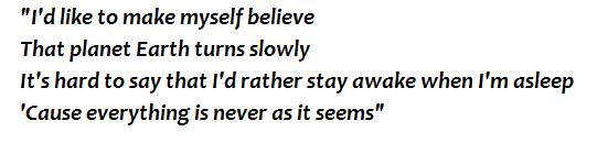 """Lyrics of """"Fireflies"""""""