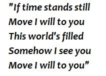 "Lyrics of ""Stand Still"""