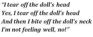 rammstein puppe lyrics