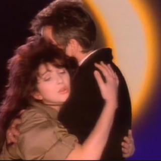 Peter Gabriel and Kate Bush