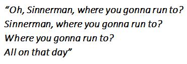 Sinnerman lyrics by Nina Simone