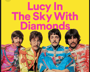 """Lucy In The Sky"" by The Beatles"