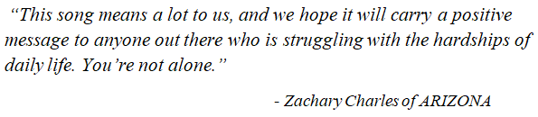 """Zachary Charles talks about """"Hold the Line"""""""