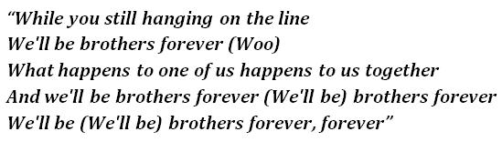 """Lyrics of """"Brothers"""""""