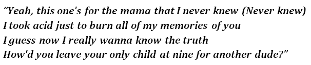 "Lyrics of ""Burning Memories"""