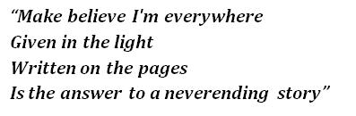 """Lyrics of """"The NeverEnding Story"""""""