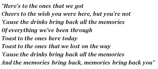 Maroon 5 S Memories Lyrics Meaning Song Meanings And Facts Browse our 11 arrangements of you will be found. sheet music is available for piano, voice, choir and 14 others with 13 scorings and 1 notation in 5 genres. song meanings and facts