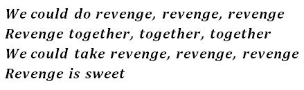 Lyrics Revenge