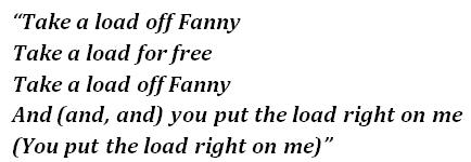 """Lyrics of """"The Weight"""""""