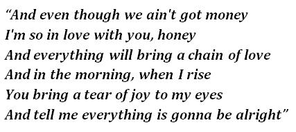 "Lyrics of ""Danny's Song"""