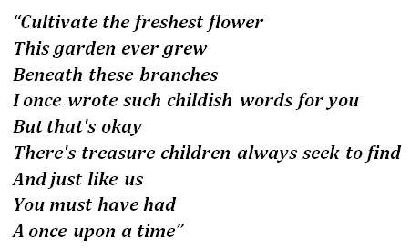 "Lyrics of ""Curtains"""