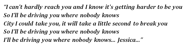 Where Nobody Knows By Kings Of Leon Song Meanings And Facts Dinero joven, alicia keys, ¡chea! where nobody knows by kings of leon