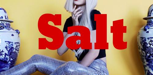 "Ava Max's ""Salt"""