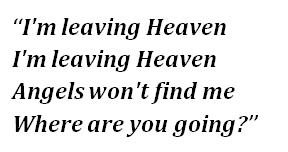 "Lyrics of ""Leaving Heaven"""