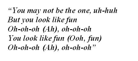 """Lyrics of """"Fun"""""""