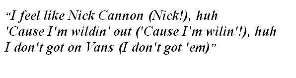 "Lyrics of ""Off the Wall"""