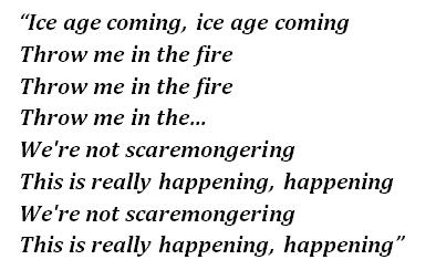 """Lyrics of """"Idioteque"""""""