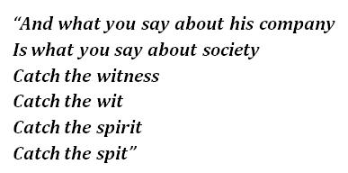 """Lyrics of """"Tom Sawyer"""""""