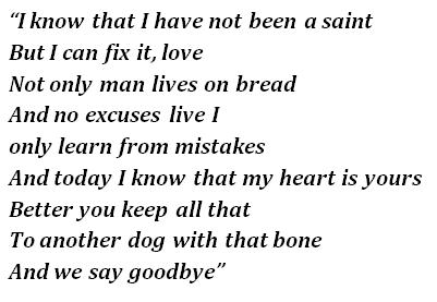 """Lyrics of """"La Tortura"""""""
